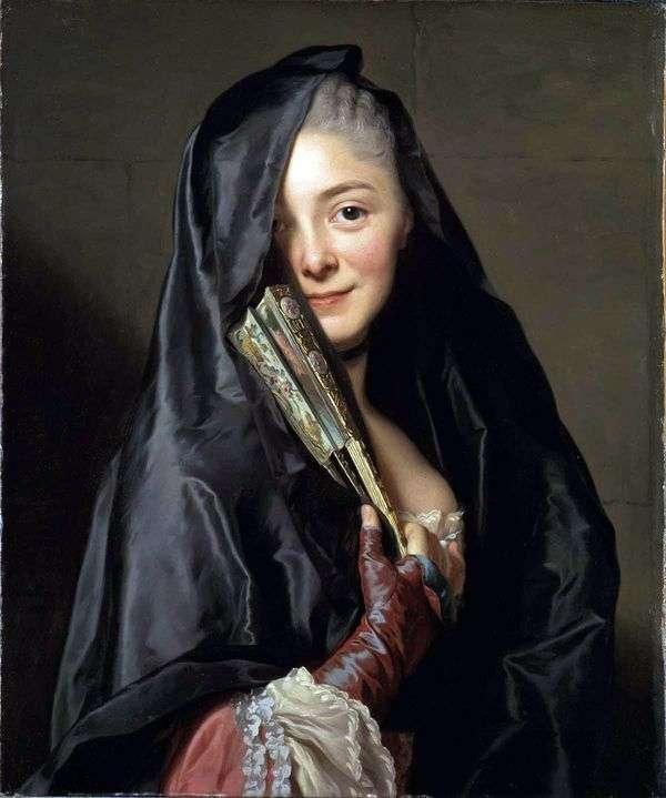 面纱的女士   亚历山大罗斯林