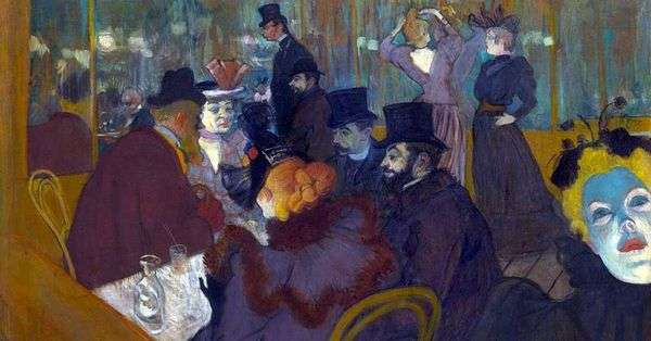 红磨坊   Henri de Toulouse Lautrec