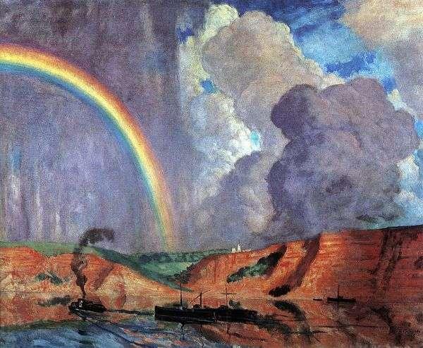 伏尔加。彩虹   Kustodiyev