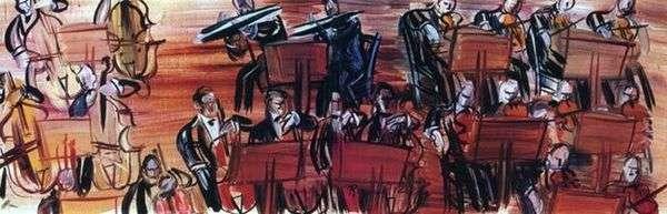管弦乐队   Raoul Dufy