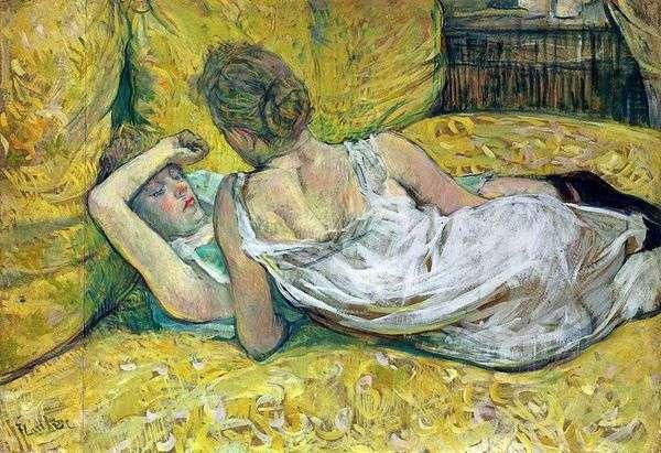 两个朋友   Henri de Toulouse Lautrec