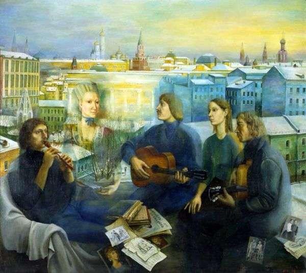 莫斯科晚上   塔季扬娜Nazarenko