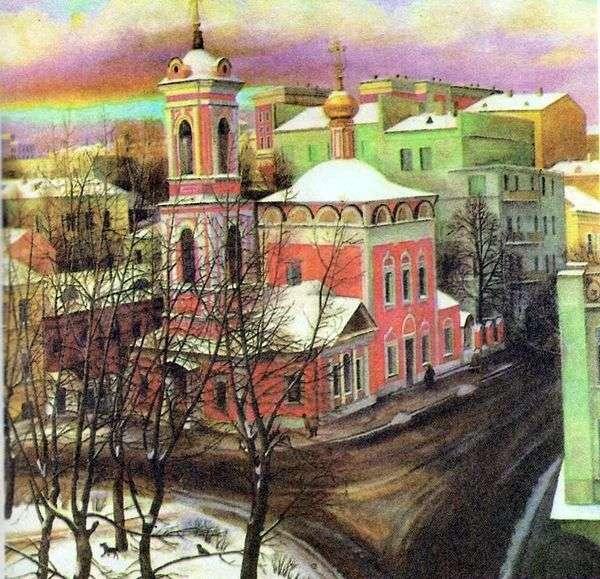 Nezhdanova街上的升天教堂   塔季扬娜Nazarenko