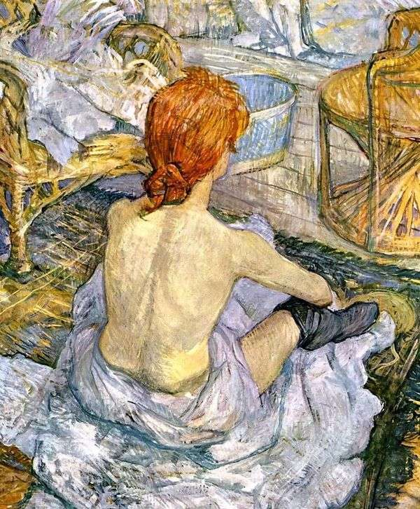 厕所(WC)的女人   Henri de Toulouse Lautrec