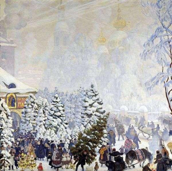 圣诞节讨价还价   鲍里斯 库斯托季耶夫