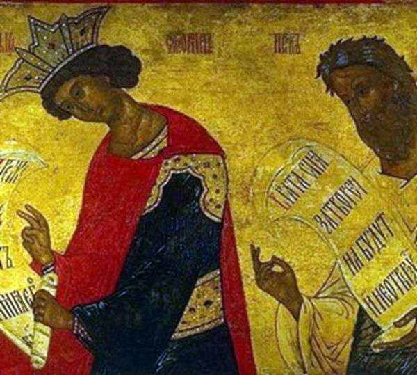 所罗门和以西结的先知的图片