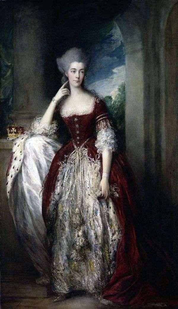 安妮,坎伯兰公爵夫人和斯特拉瑟姆的肖像   托马斯盖恩斯伯勒