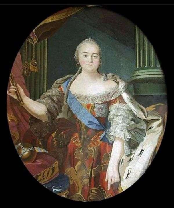 Elizaveta Petrovna的肖像