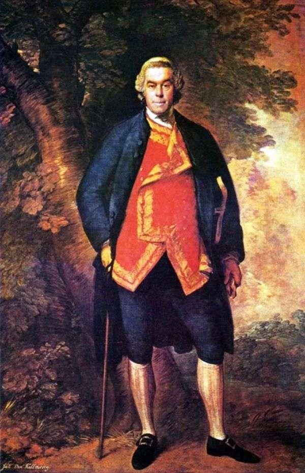 John Kilmorey的画像   Thomas Gainsborough