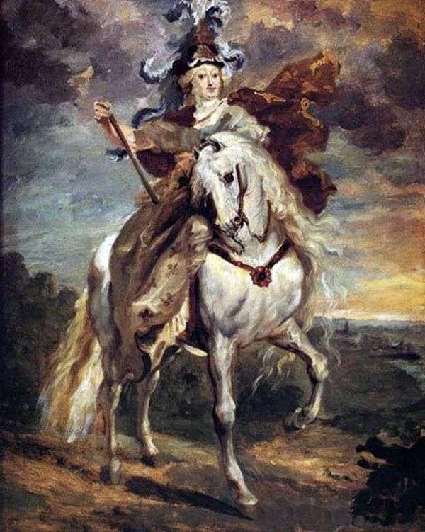 Marie de Medici在Pont de Seu战斗   Theodore Gericault