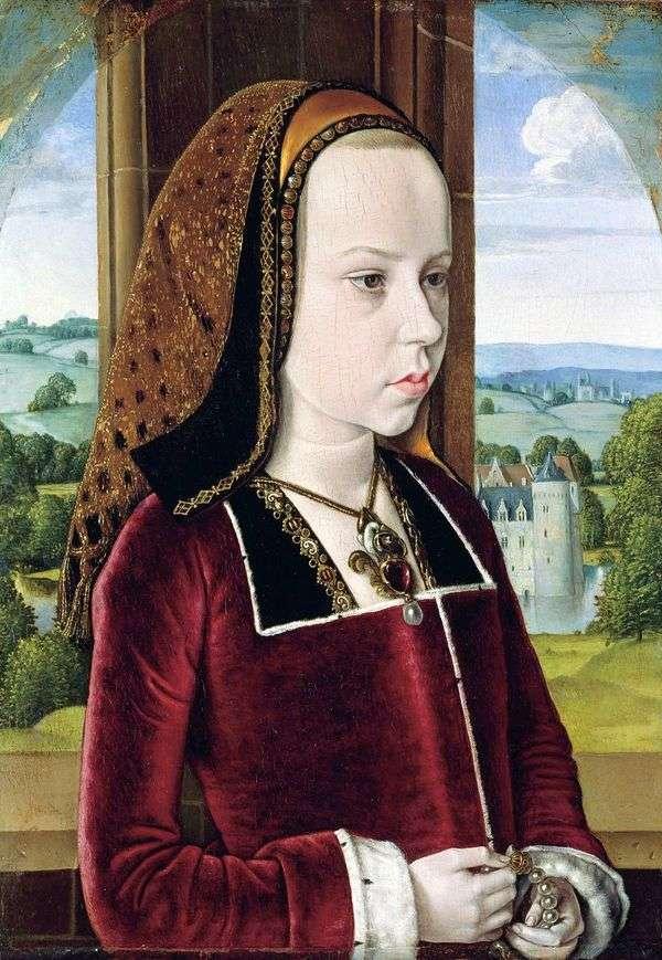 公主的肖像   来自Moulin的大师