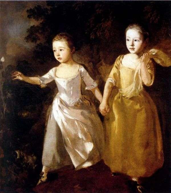 艺术家的女儿肖像   托马斯盖恩斯伯勒