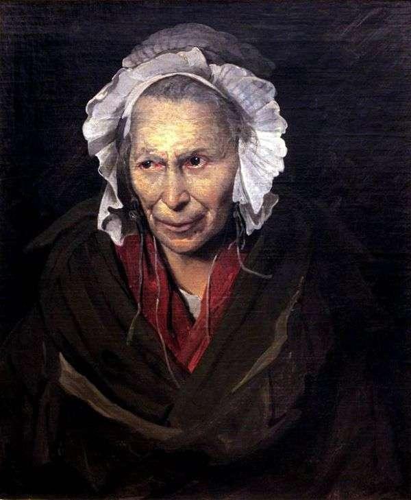 狂人的肖像   西奥多Gericault