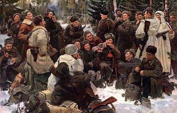 战斗结束后休息   Yuri Neprintsev