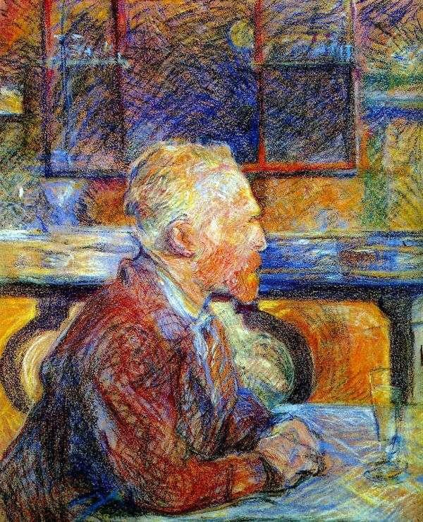 文森特梵高的画像   亨利德图卢兹   洛特雷克