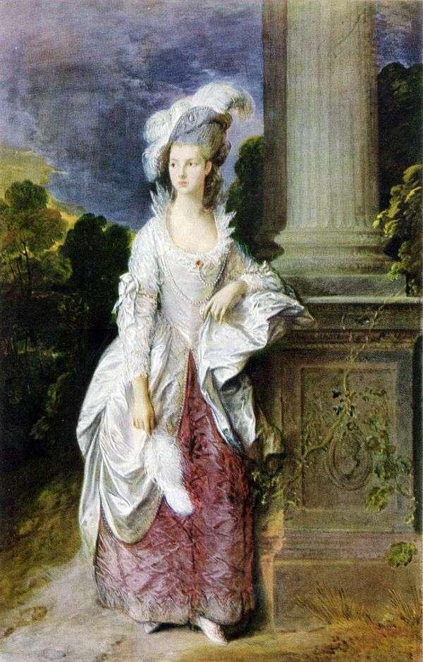 格雷厄姆夫人的肖像   托马斯盖恩斯伯勒