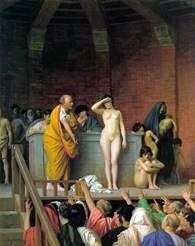 奴隶拍卖   让   莱昂杰罗姆