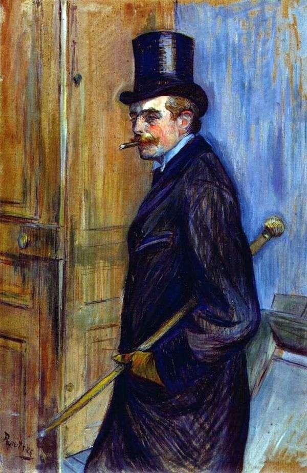 Louis Pascal的肖像   Henri de Toulouse Lautrec