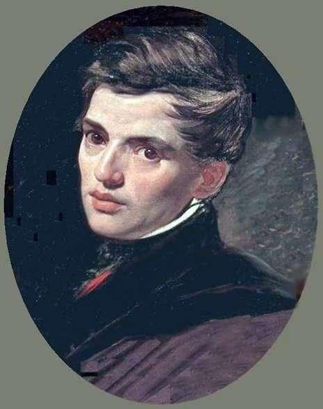 A. Bryullov的肖像   Karl Bryullov