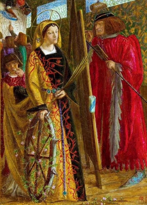 圣凯瑟琳   威廉迈克尔罗塞蒂