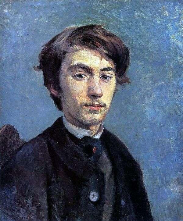 埃米尔伯纳德的肖像   亨利德图卢兹   洛特雷克