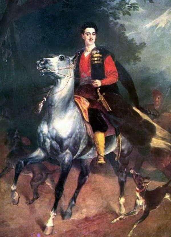 A. N. Demidov San Donato   Karl Bryullov的肖像