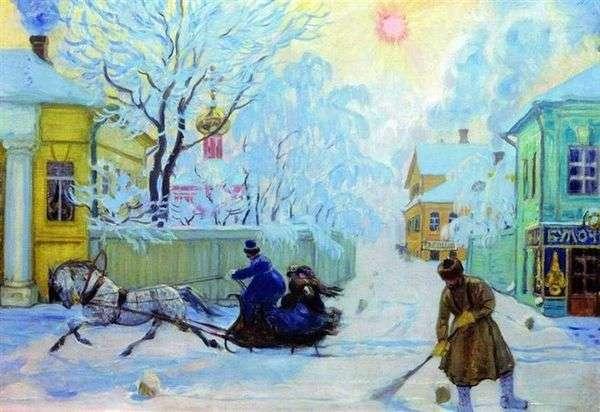 寒冷的一天   鲍里斯 库斯托季耶夫