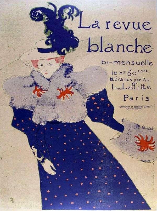 点评布兰奇   Henri de Toulouse Lautrec