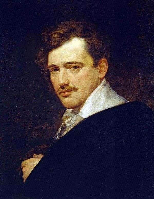 A. N. Lvov的肖像   Karl Bryullov