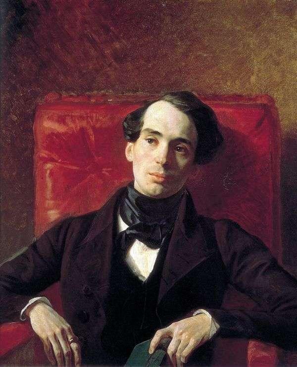 A. N. Strugovshchikov的肖像   Karl Bryullov