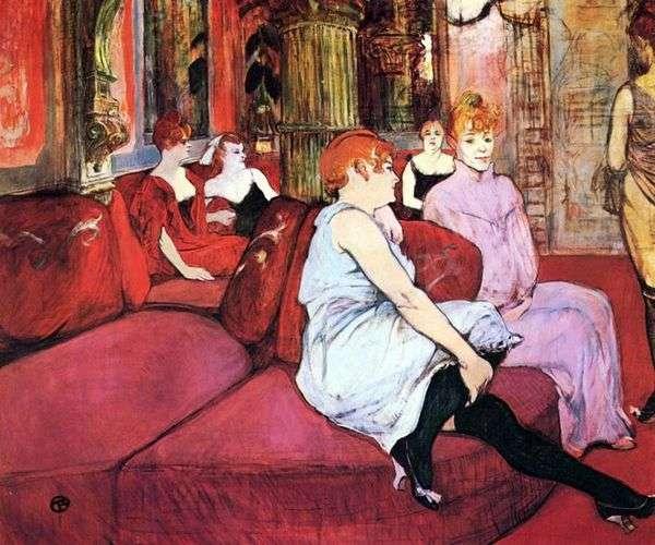 沙龙Moulin Rue   Henri de Toulouse Lautrec