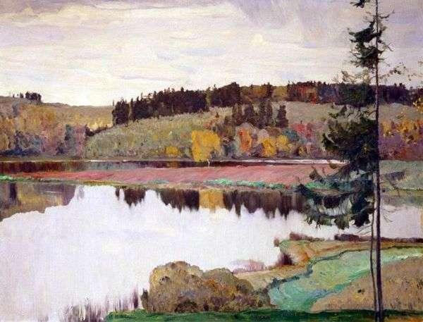 秋季景观   米哈伊尔 涅斯特罗夫