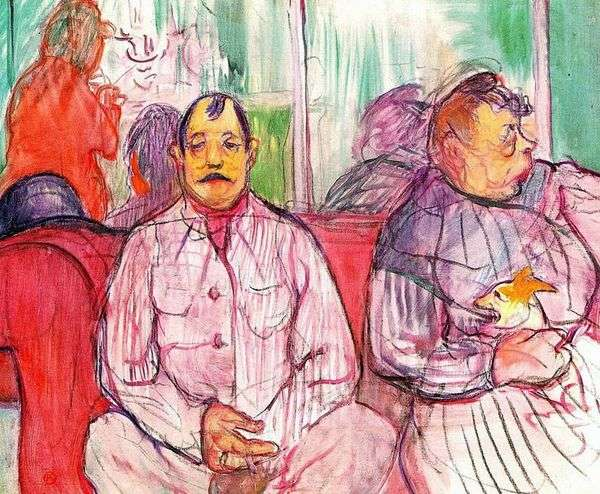 妓院守护者   Henri de Toulouse Lautrec