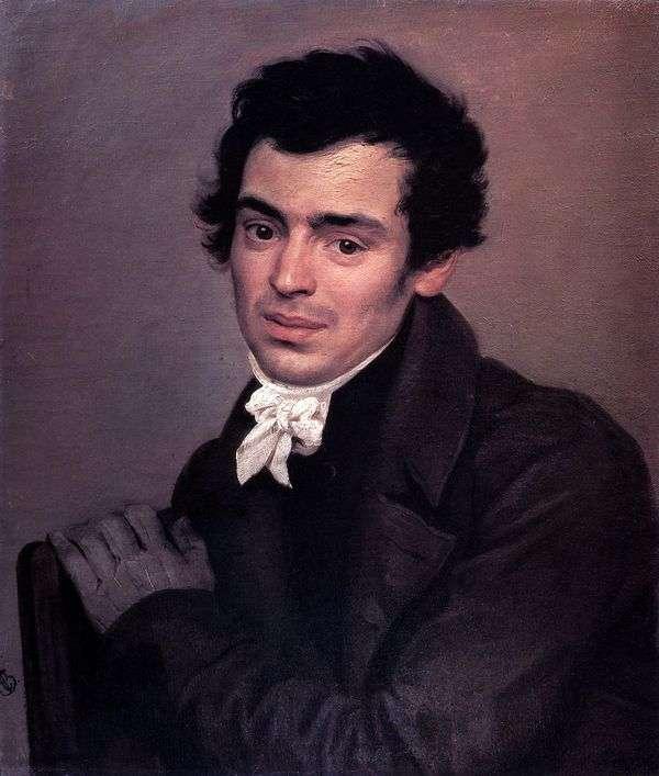 建筑师K. A. Ton   Karl Bryullov的肖像