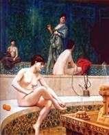 在后宫的土耳其浴   让 莱昂杰罗姆