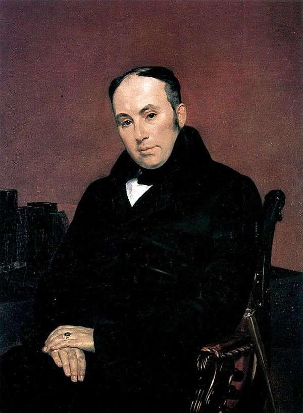 V. A. Zhukovsky的肖像   Karl Bryullov