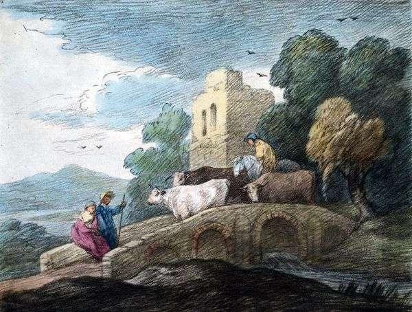 Flock过桥   Thomas Gainsborough