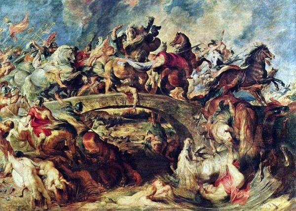 希腊人与亚马逊之战   彼得鲁本斯