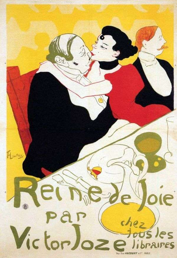 欢乐女王   Henri de Toulouse Lautrec