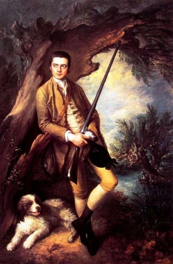 来自Midzhhem的William Point和他的狗Amber   Thomas Gainsborough