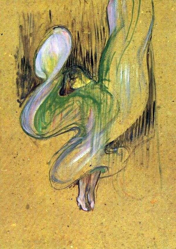 研究Foley Ber Gers的Loye Fuller光刻   Henri de Toulouse Lautrec