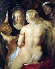 金星在镜子   彼得鲁本斯
