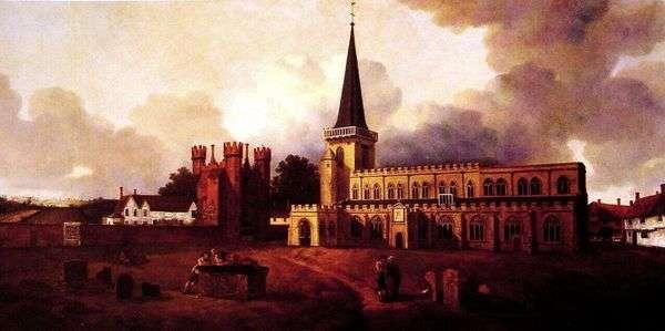 圣玛丽教堂   托马斯盖恩斯伯勒