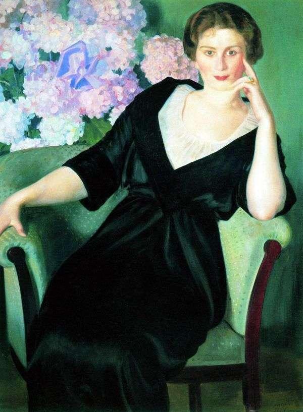 R. I. Notgaft   Boris Kustodiev的肖像
