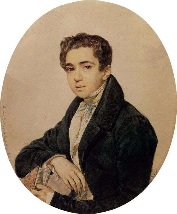 G G 加加林的画像   卡尔 布鲁洛夫
