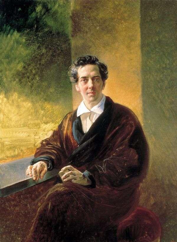 B. B. Perovsky伯爵的肖像   卡尔布鲁洛夫