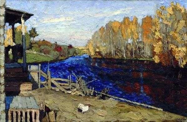 秋天(在池塘)   Stanislav Zhukovsky