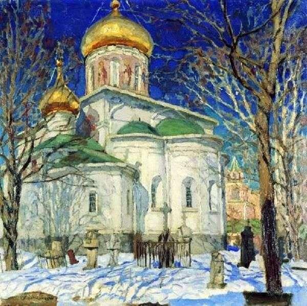 圣母诞生教堂。Zvenigorod   Stanislav Zhukovsky