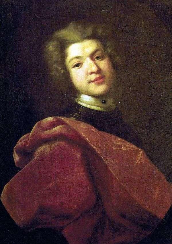 男爵谢尔盖Grigorievich Stroganov肖像   伊万尼基丁