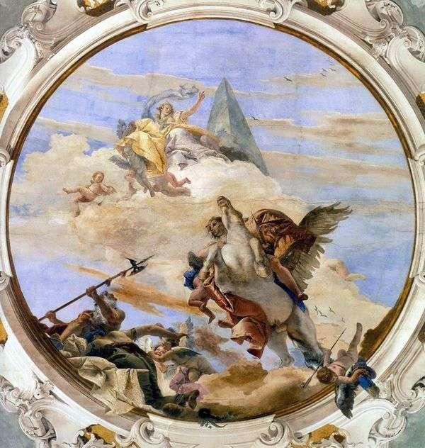 Pelerus上的Bellerophon   Giovanni Battista Tiepolo